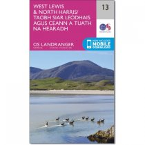 Landranger Active 13 West Lewis & North Harris