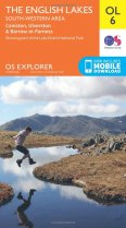 Explorer OL Map 06 The English Lakes - South-Western Area