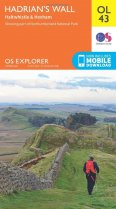 Explorer OL Map 43 Hadrian's Wall - Haltwhistle & Hexham