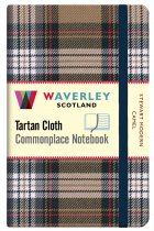 Tartan Cloth Notebook Pocket: Stewart Modern Camel