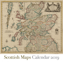 2019 Calendar Scottish Maps