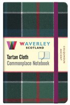 Tartan Cloth Notebook Pocket: Colquhoun Ancient