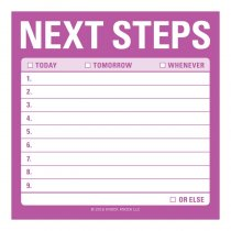 Sticky Notes: Next Steps