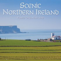 2019 Calendar Scenic Northern Ireland Family Organiser (Mar)