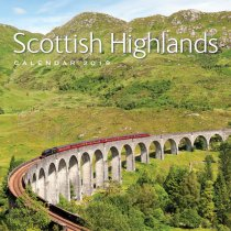 2019 Calendar Scottish Highlands (2 for £6)