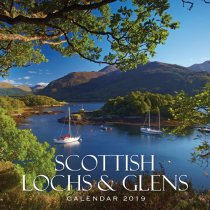2019 Calendar Scottish Lochs & Glens (2 for £6)