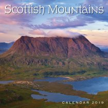 2019 Calendar Scottish Mountains (2 for £6)