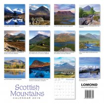 2019 Calendar Scottish Mountains (Mar)