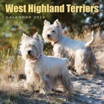 2019 Calendar West Highland Terriers (2 for £6)
