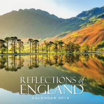 2019 Calendar Reflections of England (2 for £6)