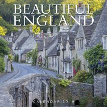 2019 Calendar Beautiful England (2 for £6)