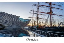V&A Dundee & RRS Discovery Dundee Postcard (H A6 LY)
