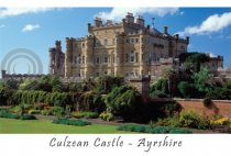 Culzean Castle Postcard (H A6 LY)