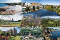 Scottish Borders Fusion Postcard (H A6 LY)