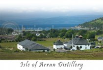 Isle of Arran Distillery Postcard (H A6 LY)