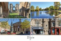 Elgin - Moray Postcard (HA6)