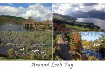 Loch Tay Composite Postcard (H A6 LY)