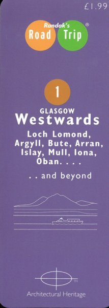 Road Trip Glasgow Westwards Map