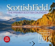 2019 Calendar Scottish Field Miniature