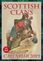 2019 Calendar Scottish Clans