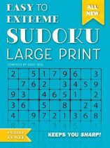 Sudoku Large Print Blue (Jun)