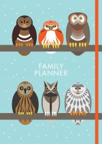I Like Birds: Parliament of Owls Family Planner