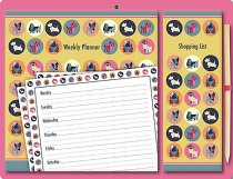 Magnetic Weekly Planner Dot the Dog