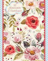 Notecard Wallet Vintage Blooms