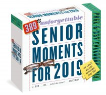 2019 Calendar Senior Moments Page a Day