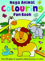Mega Animal Colouring Fun Book