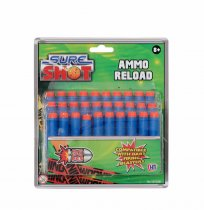 Sure Shot 30pc Ammo Reload Foam Bullets