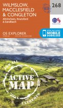 Explorer Active 268 Wilmslow, Macclesfield & Congleton