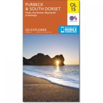 Explorer OL 15 Purbeck & South Dorset, Poole, Dorchester