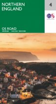 OS Road 4 Northern England