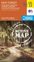 Explorer Active OL 22 New Forest, Southampton, Ringwood