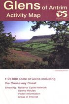 Activity Map Glens Of Antrim Laminated