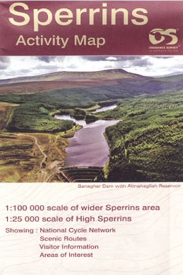 Activity Map Sperrins Laminated