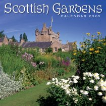 2020 Calendar Scottish Gardens