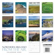 2020 Calendar Northern Ireland From the Air (2 for 6v) (Mar