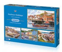 Jigsaw Harbour Holidays 4 x 500pc