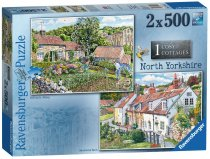 Jigsaw Cosy Cottages N Yorkshire 2 x 500pc