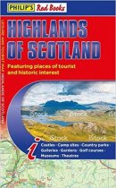 Red Books: Highlands of Scotland Tourist Map