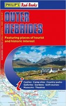 Red Books: Outer Hebrides Tourist Map