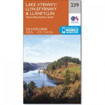 Explorer 239 Lake Vyrnwy & Llanfyllin, Tanat Valley