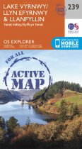 Explorer Active 239 Lake Vyrnwy & Llanfyllin