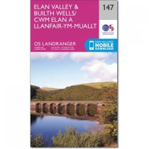 Landranger Active 147 Elan Valley & Builth Wells