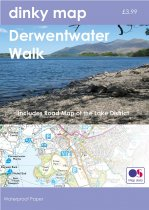 Dinky Map Derwentwater Walk (Waterproof)