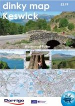 Dinky Map Keswick Foot Paths (Waterproof)