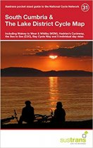 South Cumbria & Lake District Cycle Map 31 Cycle Route Map