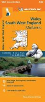 South West England & Wales 503 Map
